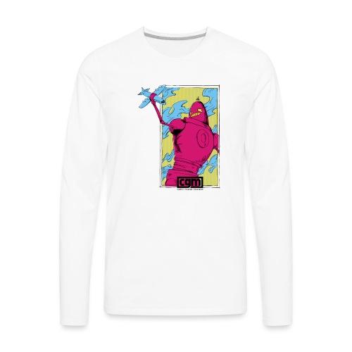 CGM Ultra Robot Women's Top - Men's Premium Long Sleeve T-Shirt
