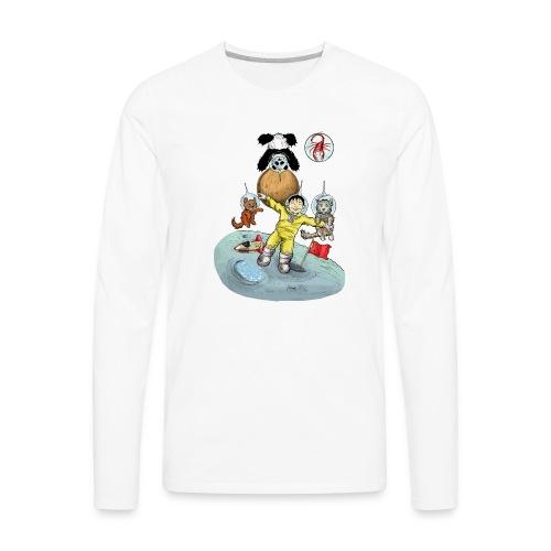 Space Is Great! - Men's Premium Long Sleeve T-Shirt