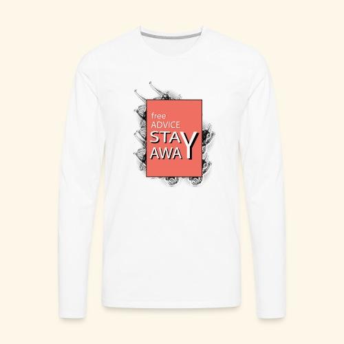 free advice - Men's Premium Long Sleeve T-Shirt