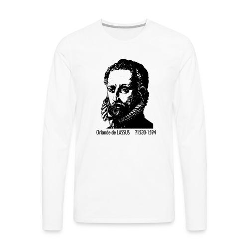 Lassus Portrait - Men's Premium Long Sleeve T-Shirt