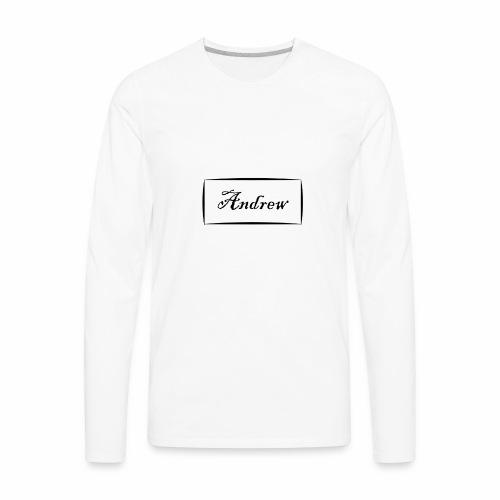 Andrew - Men's Premium Long Sleeve T-Shirt