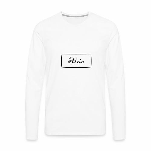 Alvin - Men's Premium Long Sleeve T-Shirt