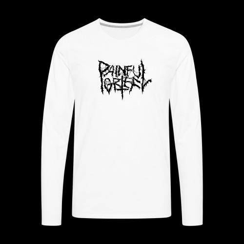 Painful Grief Logo - Men's Premium Long Sleeve T-Shirt