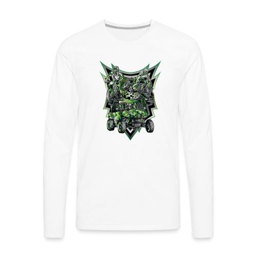 Extreme Life Style Green - Men's Premium Long Sleeve T-Shirt
