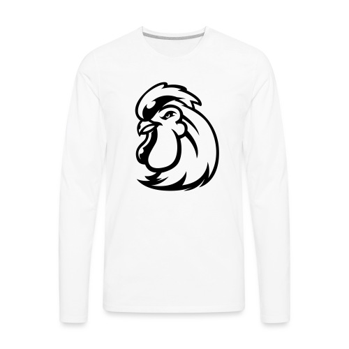 Peckers head t - Men's Premium Long Sleeve T-Shirt