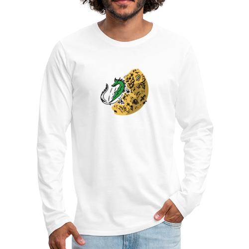 Dragon Gold Keeper - Men's Premium Long Sleeve T-Shirt