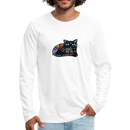 Dreamlike Cat - Men's Premium Long Sleeve T-Shirt