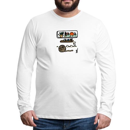 A Quiet Place - Men's Premium Long Sleeve T-Shirt