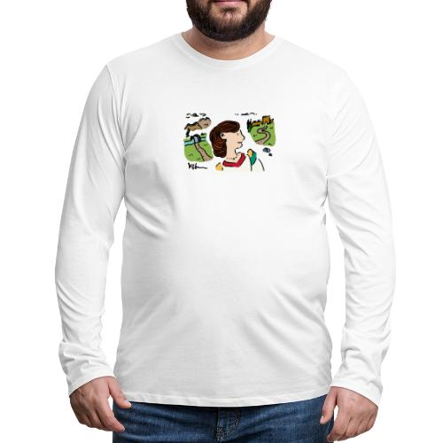 Italian Princess - Men's Premium Long Sleeve T-Shirt