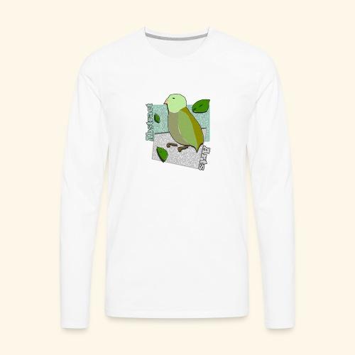 Little Bird Abstract Arts by Cc Arts Designs - Men's Premium Long Sleeve T-Shirt