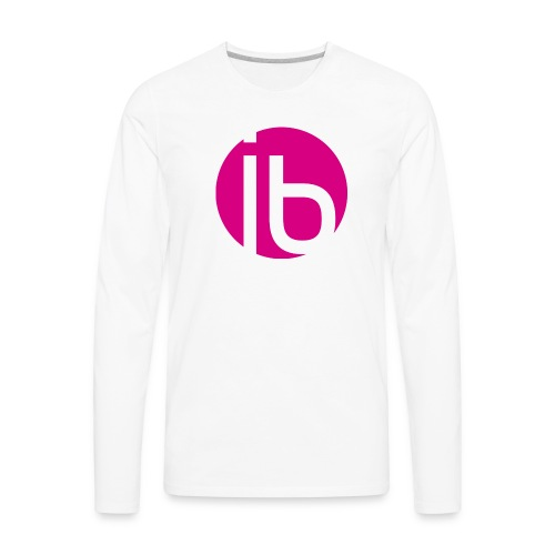 logo_isabelleBrunet - Men's Premium Long Sleeve T-Shirt