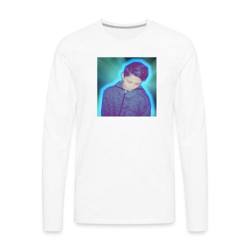 NOAHANDIOS BLACK T SHIRT - Men's Premium Long Sleeve T-Shirt