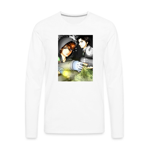 P I E Poster - Men's Premium Long Sleeve T-Shirt