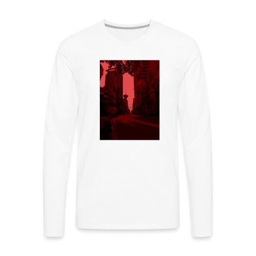 Bloody Vancouver - Men's Premium Long Sleeve T-Shirt