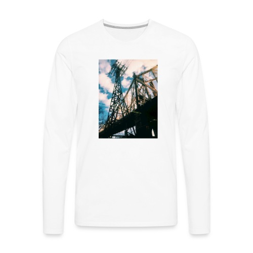 Ed Koch bridge - Men's Premium Long Sleeve T-Shirt