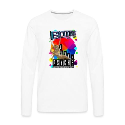 BOTOX MATINEE LOVE & PSYCHE T-SHIRT - Men's Premium Long Sleeve T-Shirt