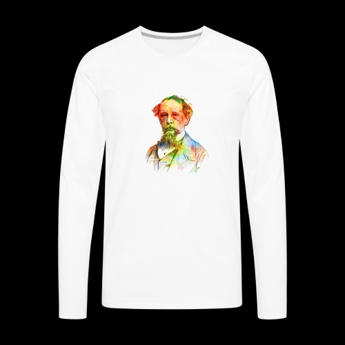 What the Dickens? | Classic Literature Lover - Men's Premium Long Sleeve T-Shirt