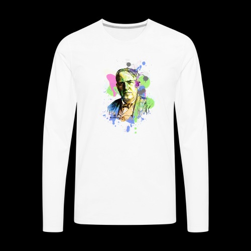 Edison's Inspiration - Men's Premium Long Sleeve T-Shirt