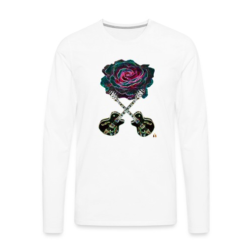 Black Rose - Men's Premium Long Sleeve T-Shirt