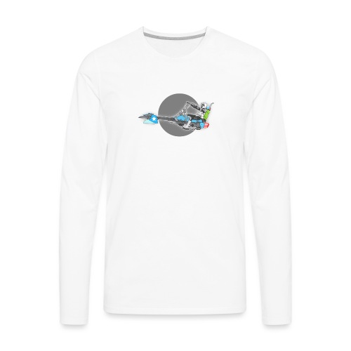 Imperial Chopper - Men's Premium Long Sleeve T-Shirt