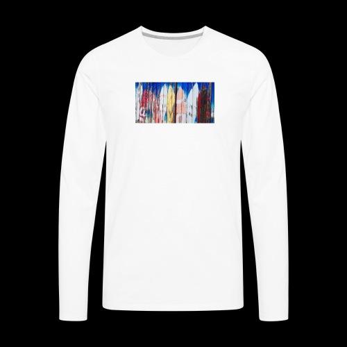 surfing dreams - Men's Premium Long Sleeve T-Shirt