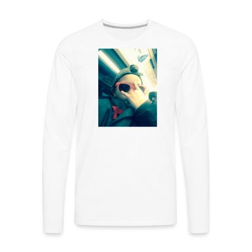 Hahhaa - Men's Premium Long Sleeve T-Shirt