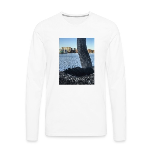 DUCK L - Men's Premium Long Sleeve T-Shirt