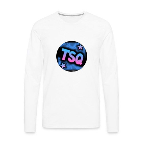 TSQ logo - Men's Premium Long Sleeve T-Shirt