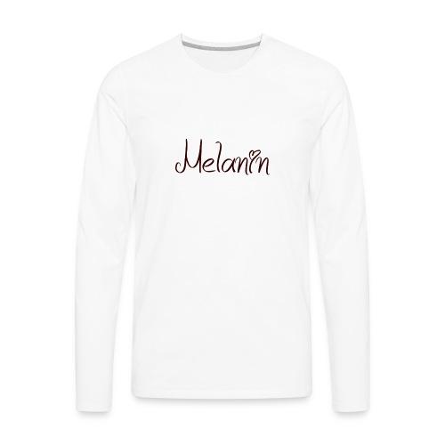 I Love Melanin - Men's Premium Long Sleeve T-Shirt