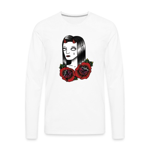 Devil Women - Men's Premium Long Sleeve T-Shirt