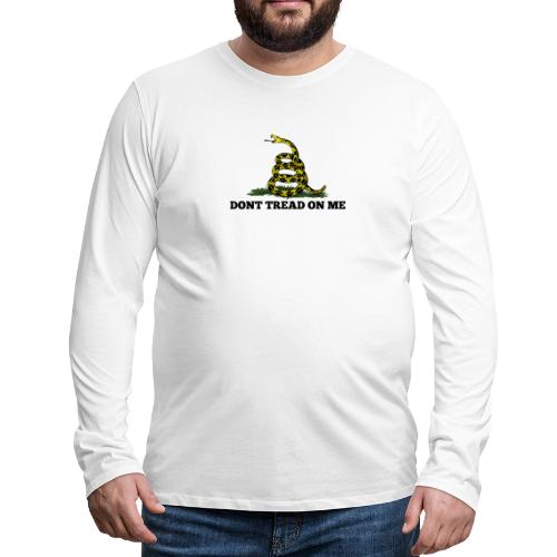 GADSDEN 1 COLOR - Men's Premium Long Sleeve T-Shirt