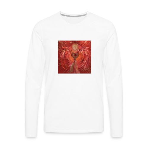 Heartangel of self-worthiness - Men's Premium Long Sleeve T-Shirt