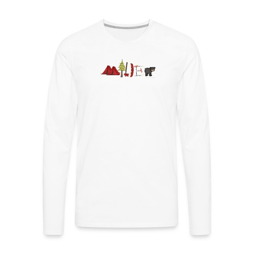 milder family reunion - Men's Premium Long Sleeve T-Shirt