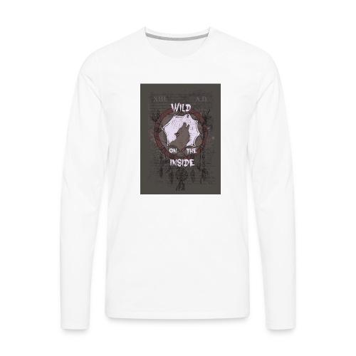 Wild-on-the-inside - Men's Premium Long Sleeve T-Shirt