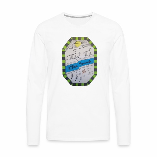 2nd position Squamish Hull - Men's Premium Long Sleeve T-Shirt