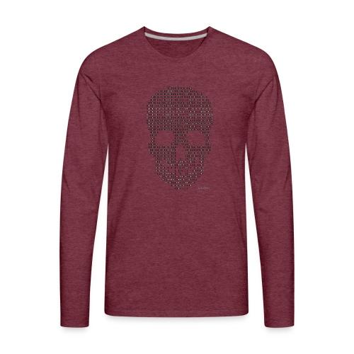 Hacker binary - Mens - Men's Premium Long Sleeve T-Shirt
