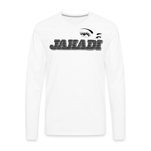 HadiLogo - Men's Premium Long Sleeve T-Shirt