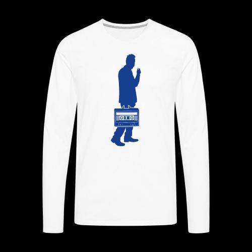 Audiophile   Sound Collector - Men's Premium Long Sleeve T-Shirt