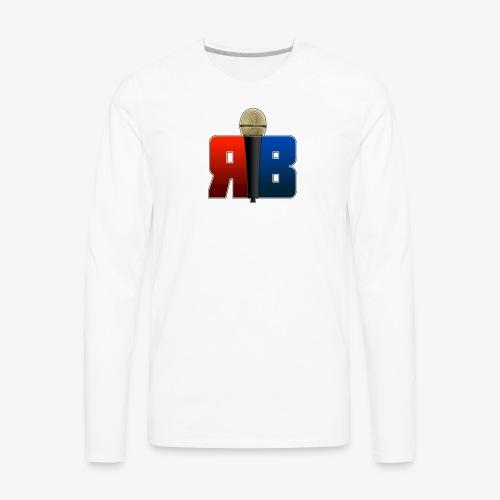 RubikBBX Logo - Men's Premium Long Sleeve T-Shirt