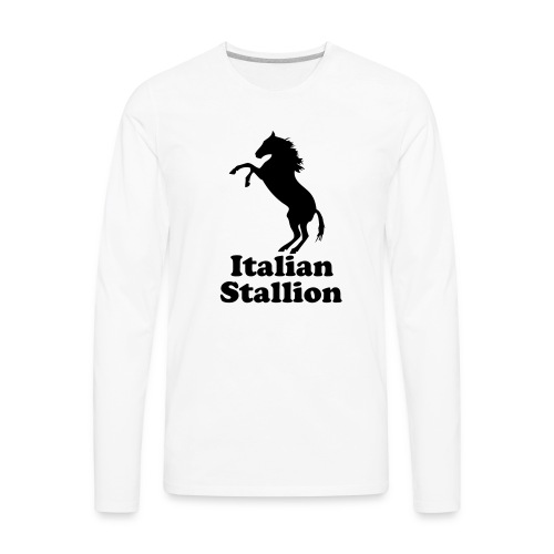 Italian Stallion - Men's Premium Long Sleeve T-Shirt