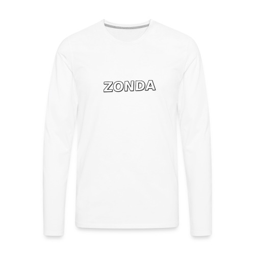 The Basic Zonda look - Men's Premium Long Sleeve T-Shirt