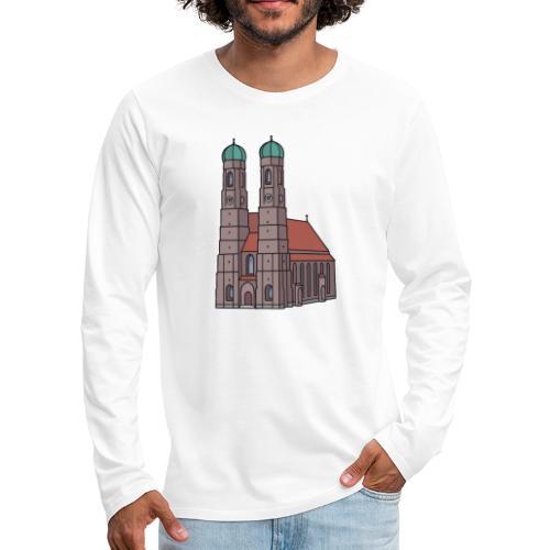 Munich Frauenkirche - Men's Premium Long Sleeve T-Shirt