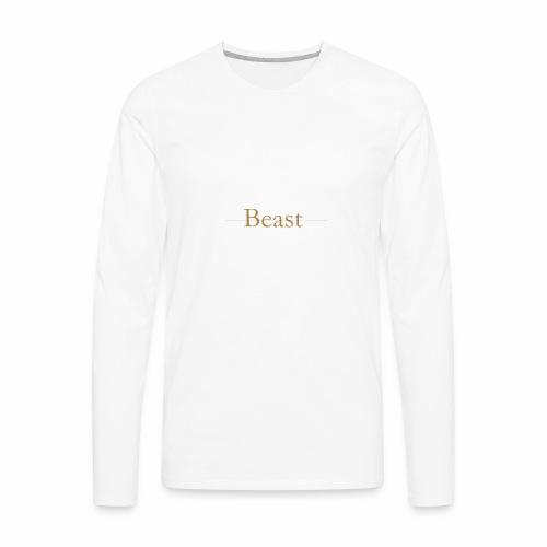Beast original - Men's Premium Long Sleeve T-Shirt