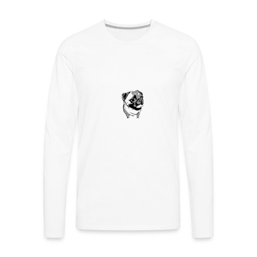 BreezyPug - Men's Premium Long Sleeve T-Shirt