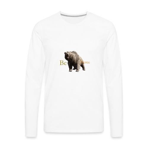 Fierce - Men's Premium Long Sleeve T-Shirt