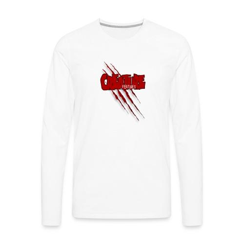 Creature Features Slash T - Men's Premium Long Sleeve T-Shirt
