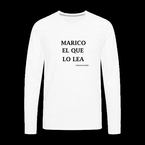MARICOELQUELOLEA - Men's Premium Long Sleeve T-Shirt
