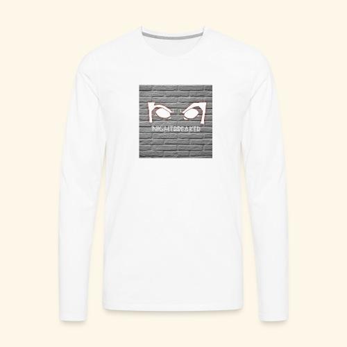 Nightbreaker YouTube logo - Men's Premium Long Sleeve T-Shirt