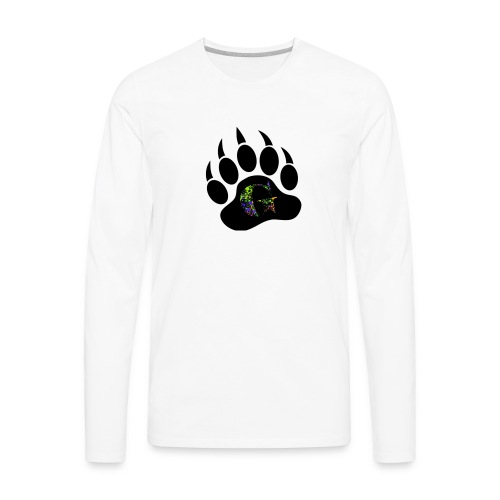 Splatter logo - Men's Premium Long Sleeve T-Shirt
