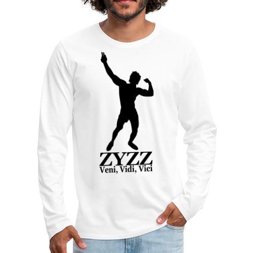 Zyzz Veni Vidi Vici - Men's Premium Long Sleeve T-Shirt
